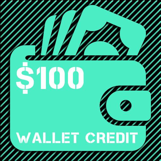 $100 cannabis wallet credit