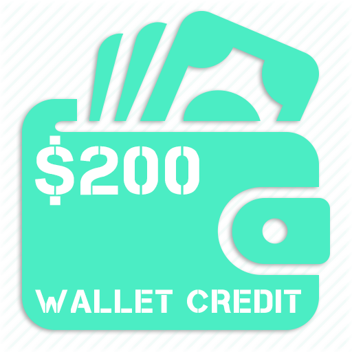 $200 cannabis wallet credit reload