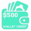 $500 cannabis wallet credit reload