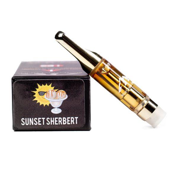 West Coast Extracts THC Distillate Sunset Sherbert