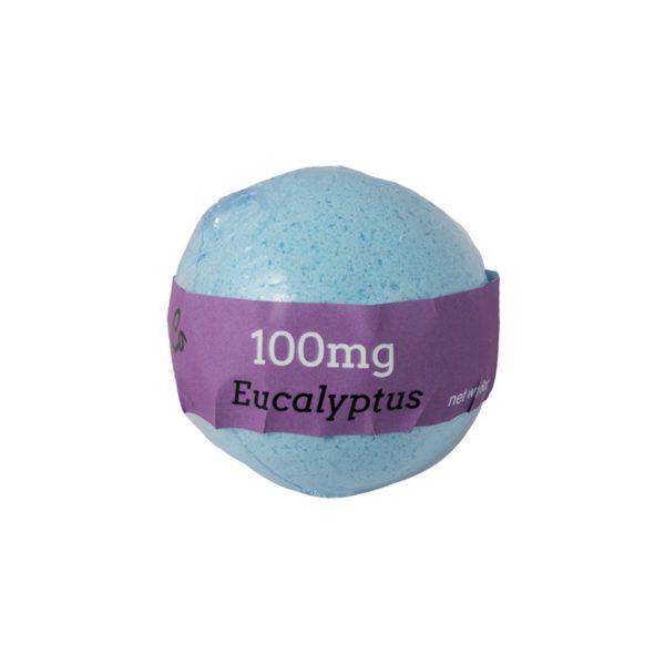 Euphoric Bliss Eucalyptus Bath Bomb Back