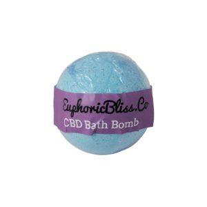 Euphoric Bliss CBD Bath Bomb 100mg Eucalyptus