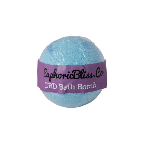 Euphoric Bliss Eucalyptus Bath Bomb Front