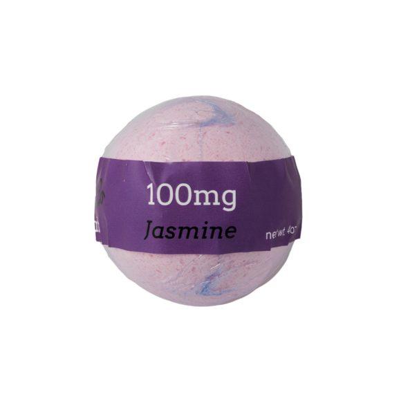Euphoric Bliss Jasmine CBD Bath Bomb 100mg Back