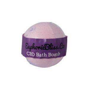 Euphoric Bliss CBD Bath Bomb 100mg Jasmine
