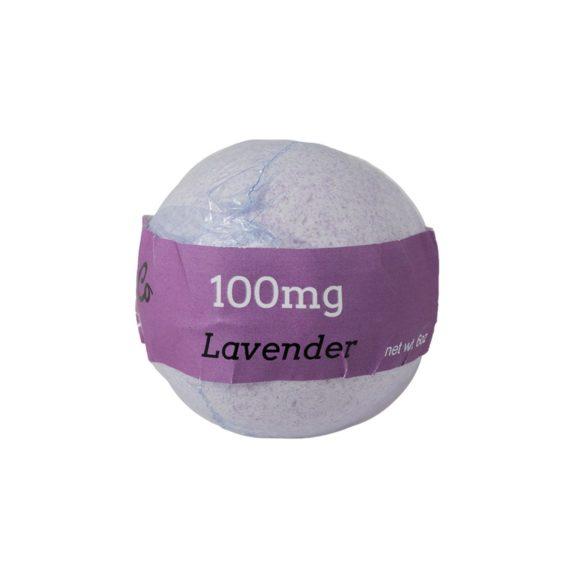Euphoric Bliss Lavender Bath Bomb Back