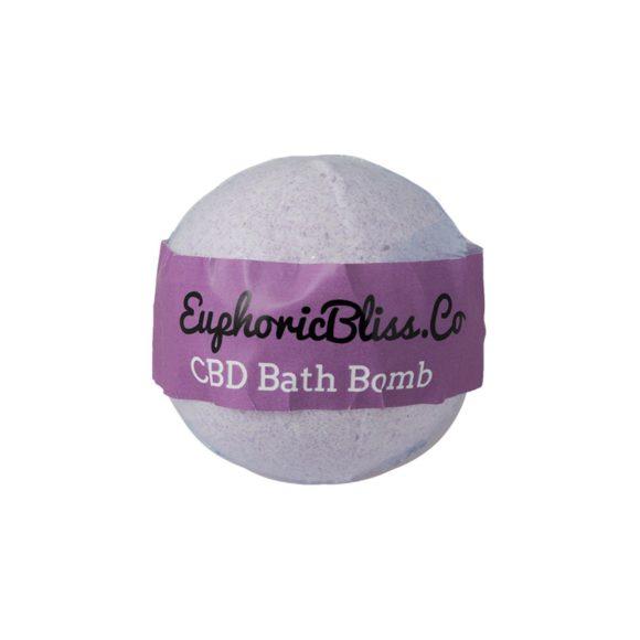 Euphoric Bliss Lavender Bath Bomb Front