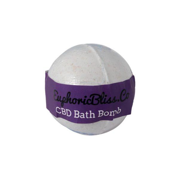 Euphoric Bliss Vanilla Bath Bomb Front