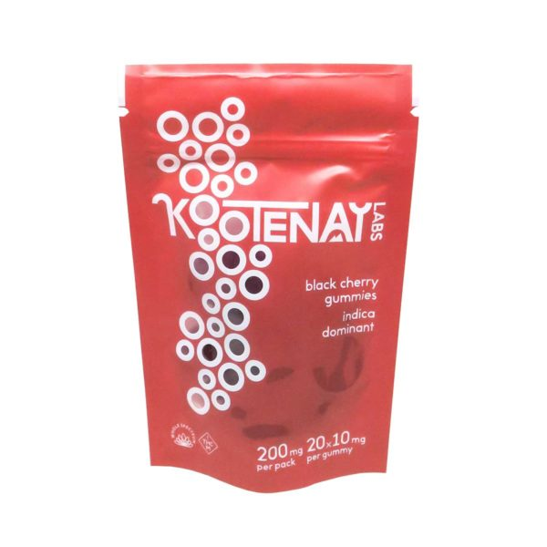 Kootenay-Labs-Black-Cherry-Indica-Gummies-200mg