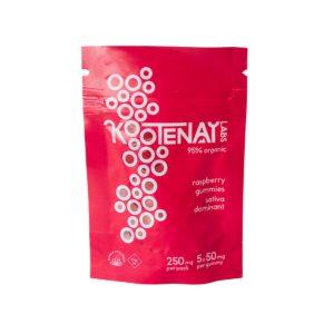 Kootenay Labs THC Sativa Gummies 250mg – 5pcs