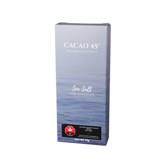 Sea Salt Dark Chocolate Cacao 45 Bar 300mg