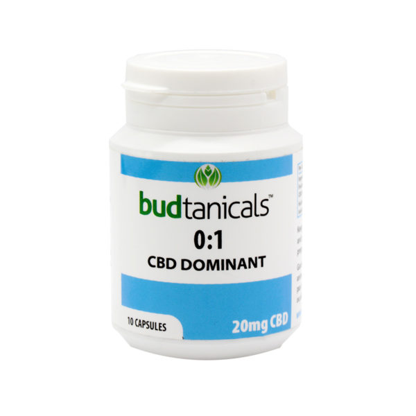 Budtanicals 20mg CBD Caps