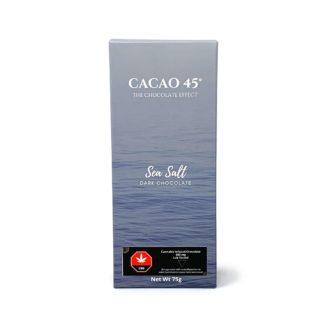 Cacao 45 Chocolate Bars – 600mg CBD – 75g