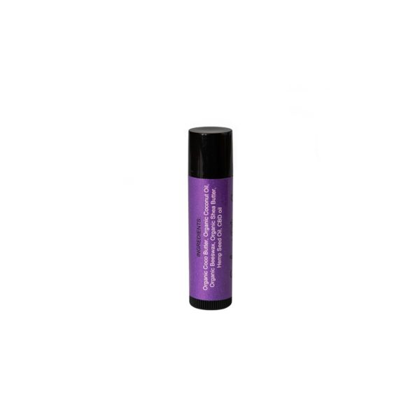 Euphoric Bliss CBD Lip Balm Side