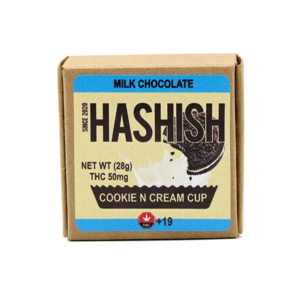 Hashish-Cookies-N-Cream-Cup-50mg