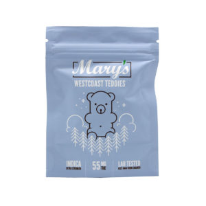 Mary's Westcoast Teddies Indica 55mg