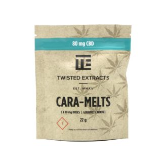 Twisted Extracts CBD Cara-Melts – 80mg