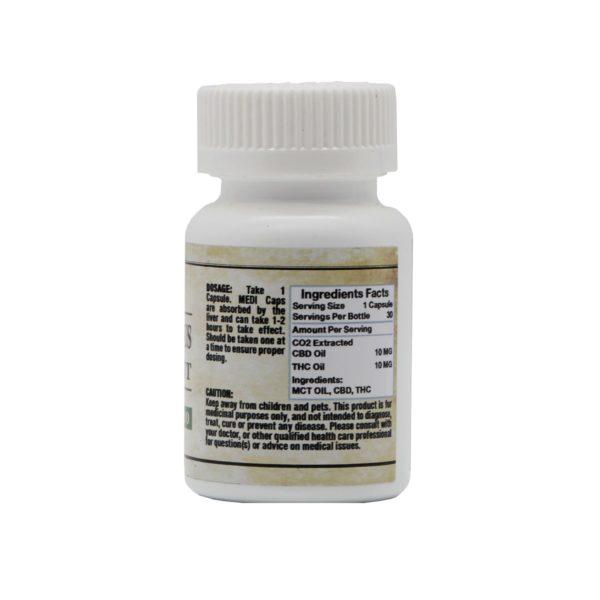 Anonymous Content Co 1:1 THC CBD Caps 20mg Ingredients