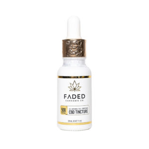 Faded Cannabis Co. Full Spectrum CBD Tincture 500mg