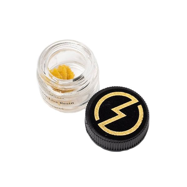 High Voltage Extracts Great White Shark Live Resin Side