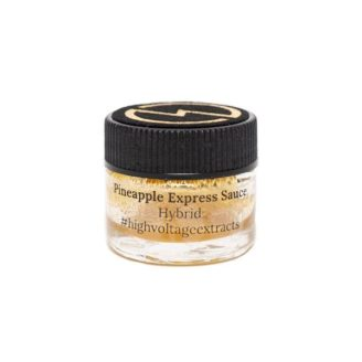 High Voltage Extracts – HTFSE Sauce – Pineapple Express – Hybrid – 1g