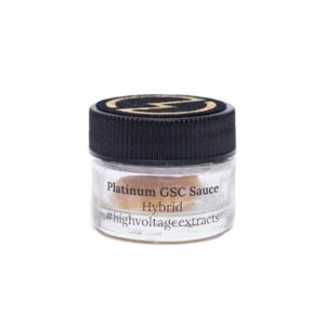 High Voltage Extracts – HTFSE Sauce – Platinum GSC – Hybrid – 1g