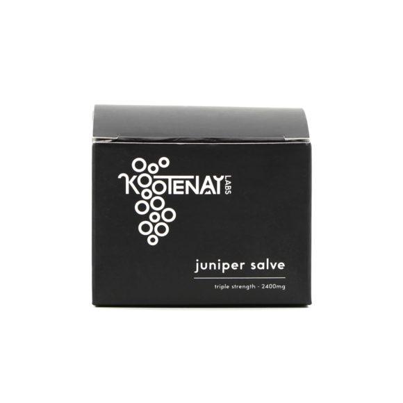 Kootenay Labs Juniper THC Salve 2400mg Box Front