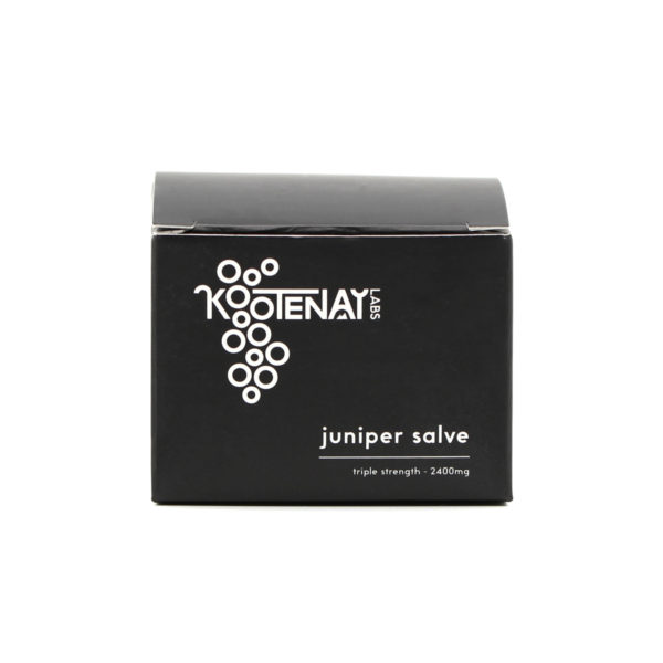 Kootenay Labs Juniper THC Salve 2400mg Box Front