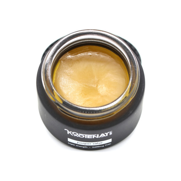 Kootenay Labs Juniper THC Salve 2400mg Top