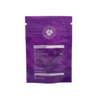 Kootenay Labs Grape 50mg THC Gummies – Indica – 250mg