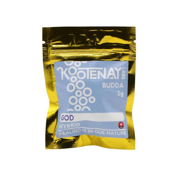 Kootenay Labs God Budder 1g Front