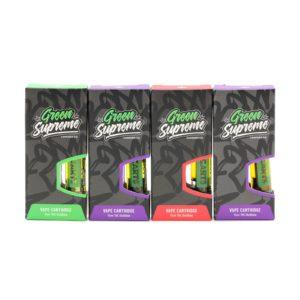 Green Supreme THC Distillate Vape Cartridge – 1ml