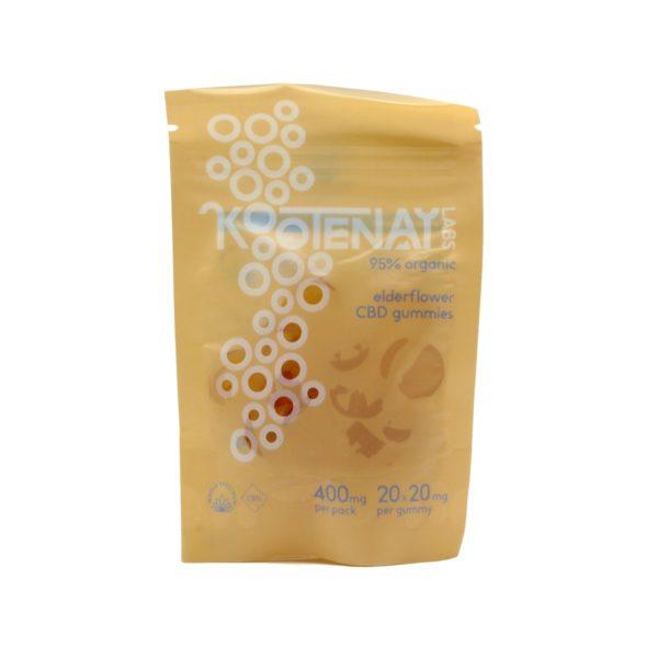 Kootenay Labs Full Spectrum Elderflower CBD Gummies 20mg