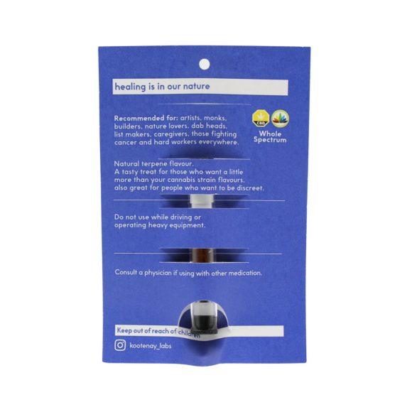 Kootenay-Labs-CBD-Distillate-1g-Vape-Cartridge-Unterped-Back