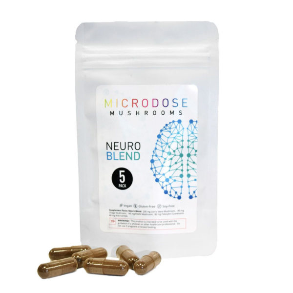 Microdose Mushrooms Nuero Blend-5-caps