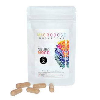 Microdose Mushrooms Neuro Mood 250mg – 5 Caps