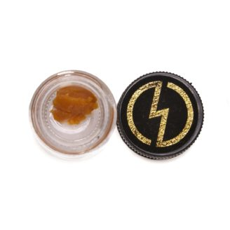 High Voltage Extracts – Live Resin – Train Wreck – Sativa – 1g