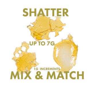 Mix & Match Shatter 4-7g